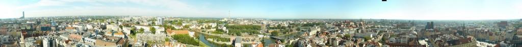 Панорама с собороа св. Елизаветы
