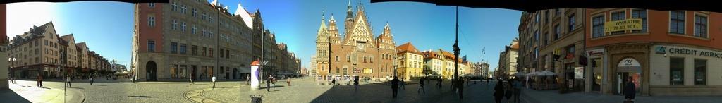 Последняя панорама с ратушей