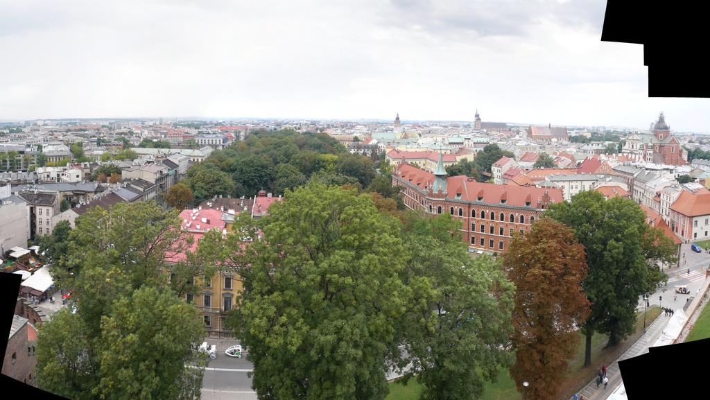 панорама с колокольни Вавельского собора